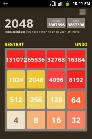 game - What is the largest tile possible in 2048