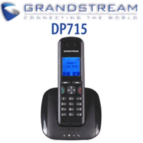 Grandstream DP715 Dect Phone Base and DP710 Phone |VoIP