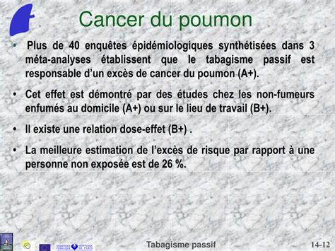 PPT - Tabagisme passif PowerPoint Presentation - ID:4343828