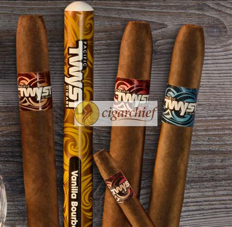 Buy Online: Pacific Twyst Spiced Rum Flavored Cigars at