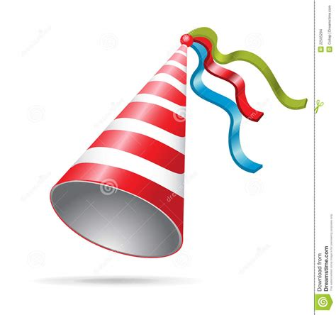 Birthday/ New Year S Eve Party Hat Stock Vector