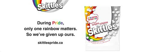 Skittles Canada celebrates Pride 2019 by partnering with