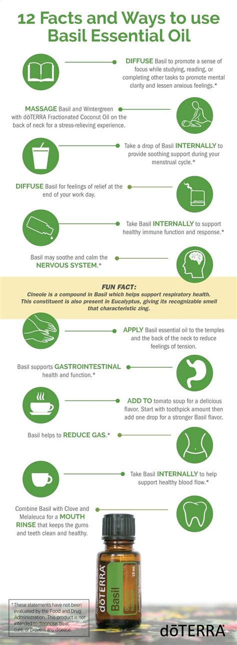 12 Facts and Ways to use Basil Essential Oil | Huiles