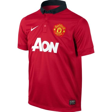 Manchester United 13/14 Youth Home Jersey