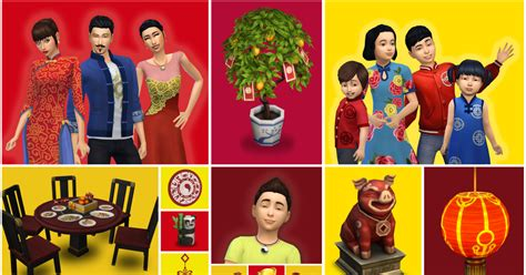 The Sims 4 Celebrates Lunar New Year