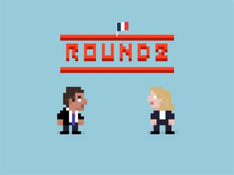 Round 2 - French elections by Romain Bibré - Dribbble