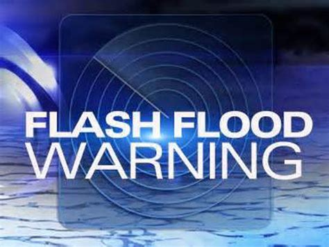 NATIONAL WEATHER SERVICE EXTENDS FLASH FLOOD WARNINGS