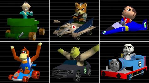 Ermii Kart Ds Legacy Edition - All Characters, Costumes